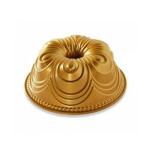 Nordic Ware Forma na bábovku Chiffon zlatá 2,4 l