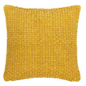 Boma Trading Obliečka na vankúšik Arya mustard, 45 x 45 cm