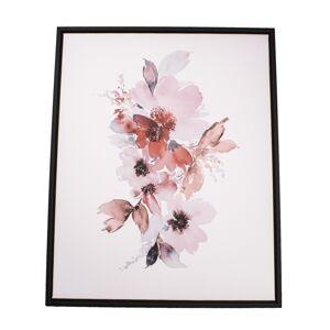 Obraz na plátne v ráme Flowers, 40 x 50 cm