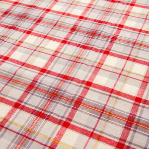 Trade Concept Obrus Káro červeno-béžová, 90 x 90 cm