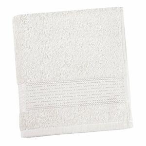 Bellatex Froté osuška Kamilka prúžok biela, 70 x 140 cm