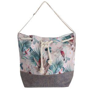 Plážová taška Jungle, biela