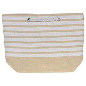Plážová taška Stripes 52 x 38 cm, žltá