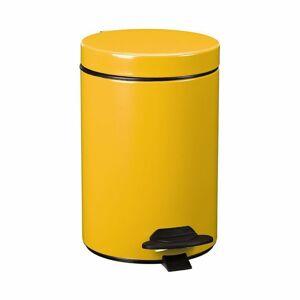 Rossignol Pedálový odpadkový kôš Cyjeu 3 l, žltá