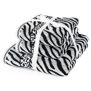 Jahu Sada uterákov a osušky Zebra biela