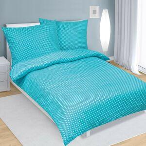 Bellatex Saténové obliečky tyrkysová, 140 x 200 cm, 70 x 90 cm