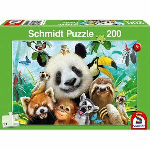 Schmidt Puzzle Zvieracia zábava, 200 dielikov