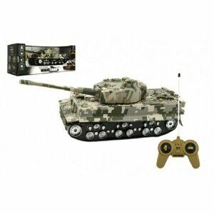 Teddies Tank na batérie so zvukom a svetlom Tiger, 25 cm