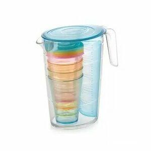 Tescoma Džbán s pohármi myDRINK 2,5 l, modrá 308802.30