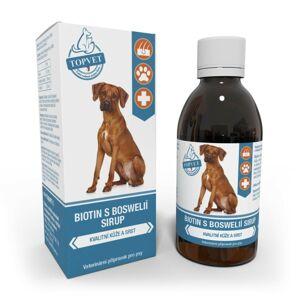 Topvet Sirup Biotín s Bosweliou pre psov 200 ml