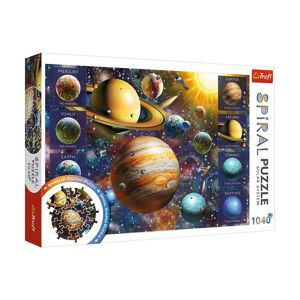 TREFL Spiral Sluneční soustava 1040 dielov puzzle