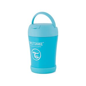 Twistshake Termoska na jedlo 350 ml, modrá