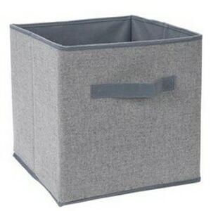 Úložný box 30 x 30 x 30 cm, sivá
