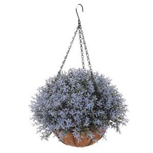 Umelá kvetina v závesnom kvetináči Mirabel, svetlofialová