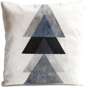 Jahu Vankúšik Black Trojuholníky, 40 x 40 cm