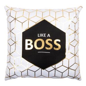 JAHU Vankúšik Gold De Lux Boss, 43 x 43 cm