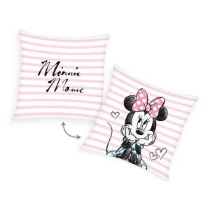 Herding Vankúšik Minnie Mouse Pruhy, 40 x 40 cm