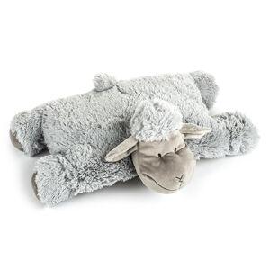BO-MA Trading Vankúšik Ovečka suchý zips sivá, 52 x 38 cm