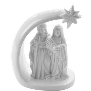 Vianočná dekorácia Svätá rodina, 14 cm