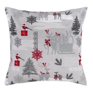 Trade Concept Vianočná obliečka Winter Forest, 40 x 40 cm