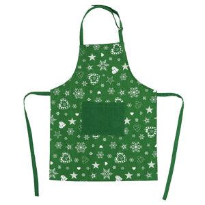 Forbyt Vianočná zástera 2013 zelená, 60 x 80 cm