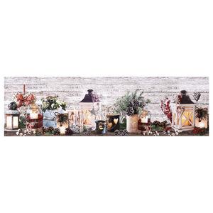 BO-MA Trading Vánoční běhoun Svícny