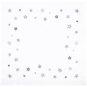 Altom Vianočný obrus Hviezda strieborná