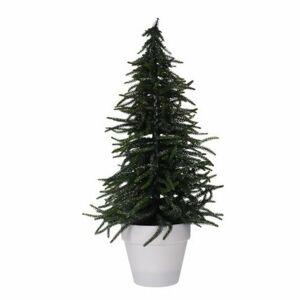 Vianočný stromček v kvetináči Tarent 58 cm, srienistý