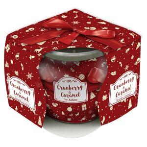 Vonná sviečka Cranberry & Caramel, 85 g