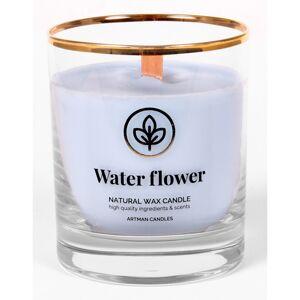 Vonná sviečka v skle Water flower 500 g, 9,5 cm